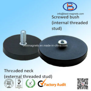 Direct Factory Original Supplier of Rubber Coated Magnet Pot/Gripper pictures & photos