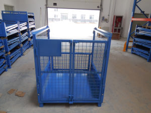 Industry Foldable Metal Wire Mesh Storage Container pictures & photos