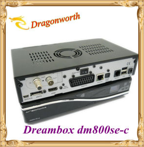 Digital HD TV Set Top Box DVB-C Digital TV Receiver, Linux OS HD Decoder Dm800HD Se Cable Receiver