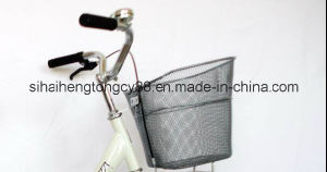 28′′single Tube Steel Fashion Bike/Bicycle for Woman (SH-C010) pictures & photos