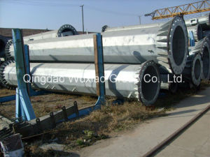 High Voltage Electric Power Transmission Steel Antenna Monopole Tower pictures & photos