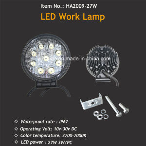 Hotsale 4X4 Offroad 27W LED Work Lamp pictures & photos