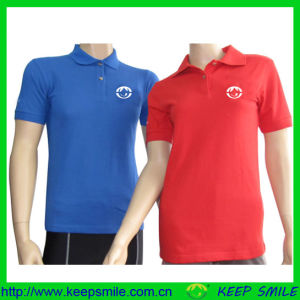 Custom Cotton Polyester School Polo Shirts Knitted Clothes pictures & photos