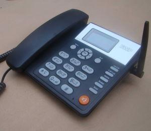2 SIM Card GSM Fixed Wireless Desktop Phone/GSM Fwp pictures & photos