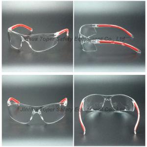 Wrap Around Lens Safety Glasses Eyewear (SG123) pictures & photos