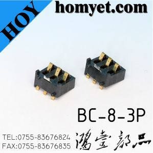 High Quality Battery Holder with 3pins (BC-8-3P) pictures & photos