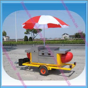 Hot Selling New Snack Food Design Hot Dog Trailer pictures & photos