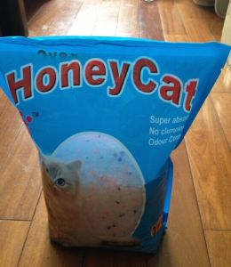 Crystal Honey Cat Silica Gel Cat Litter pictures & photos