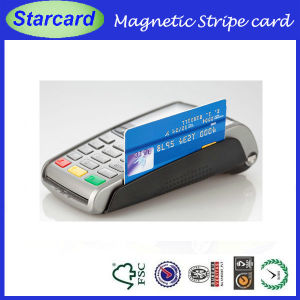 Magnetic Stripe / Swipe Cards with Embossed Number pictures & photos
