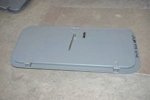 Ay Type Steel Single-Leaf Weathertight Door Used in Yatch pictures & photos