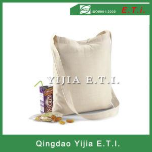 Strip Closure Cotton Canvas Sling Tote Bag pictures & photos