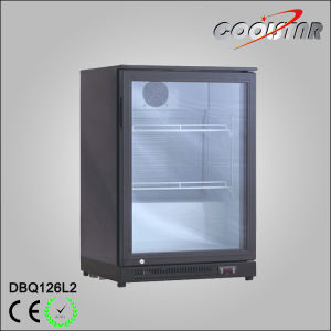 Single Glass Cabinet Refrigerating Displayer Bottle Cooler (DBQ126L2) pictures & photos