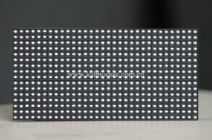 Semi-Outdoor Single Yellow Color LED Display Module/LED Panel/LED Board (P7.62) pictures & photos