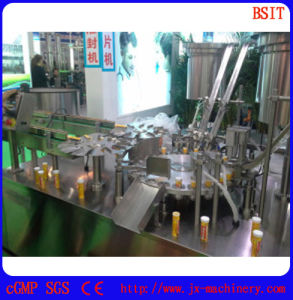 Effervescent Tablet Counting and Filling and Capping Machine (ZGF-II) pictures & photos
