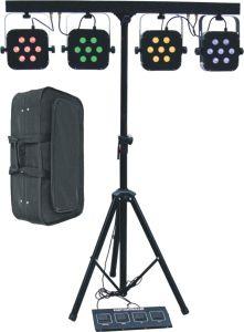 7X15W 4 In1 LED Four PAR Bar, Flat PAR Light with Stand, Bag pictures & photos