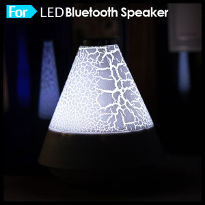 2016 Smartphone Cheap Mini LED Light Wireless Bluetooth Speaker pictures & photos