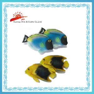 Souvenir Scene Magnets with Fish (SMM1030)