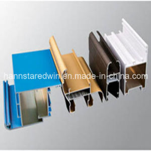 Aluminum Extruded Profile/Aluminum Frame for Building pictures & photos