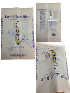 Beautiful Printed Big Size Rice Paper Bag/Flat Bag pictures & photos