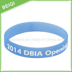 2016 Custom High Quality Silicone Bracelet for Promotion Gifts pictures & photos