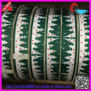 Christmas Grosgrain Ribbon pictures & photos