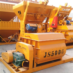 Force Concrete Mixer, Electric Concrete Mixer (JS500) pictures & photos