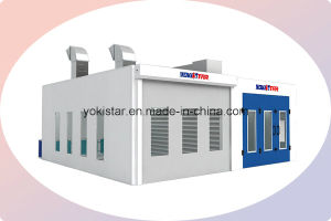 High Quality Auto Spay Booth with Prep Station and Spay Booth pictures & photos