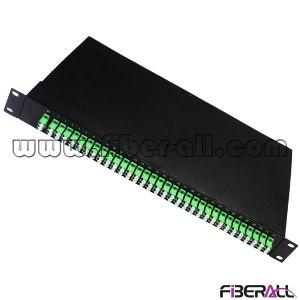 2X64 Rack Mounted Fiber Optical PLC Splitter pictures & photos