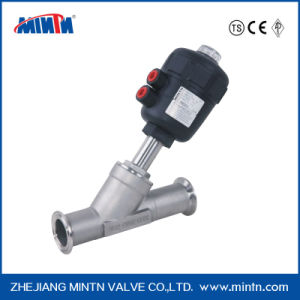 K5-Pneumatic Angle Seat Valve-Clamp Ends