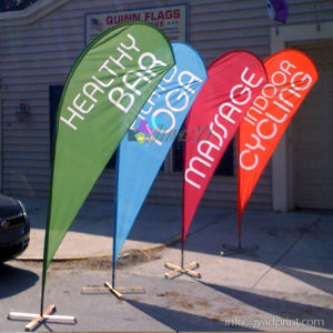 High Quality Digital Printing Promotion Teardroop Flag For Sport Competition Event pictures & photos