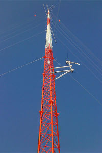 Guyed Telecommunication Steel Lattice Tower pictures & photos