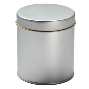Plain Roud Tin Box Without Print-Nc2568-2