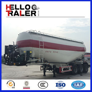 Bulk Cement Silo Trailer with Air Compressor pictures & photos