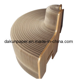 Foldable Paper Living Chair/Seat (DKPF100107)