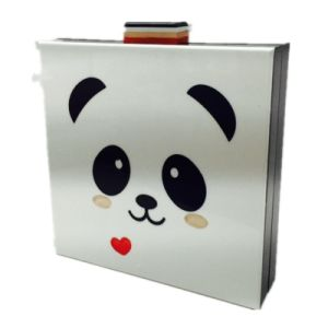 Panda Cartoon Handbag Fashion Women clutch Cute Eveningbag pictures & photos