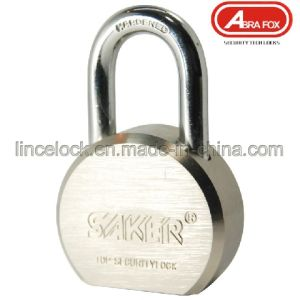 Steel Round Padlock/Brass Cylinder Padlock/Hardened Steel Shackle Padlock (204) pictures & photos