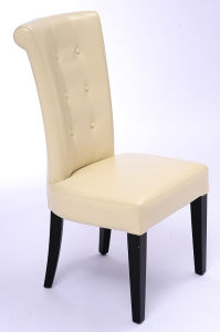 Modern Bonded Leather High Back Restaurant Chair Restaurant Furniture (GK715)