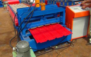 Dixin Glazed Tile Steel Roll Forming Machine Tool for Sale pictures & photos