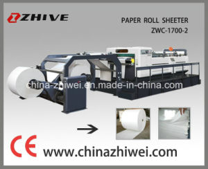 Paper Roll to Sheet Cutter