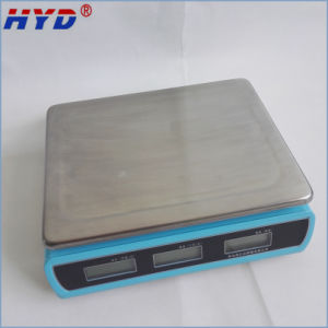 Haiyida Dual Display LCD/LED display Balance pictures & photos