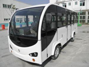Electric Shuttle Bus, 14 Seats Passenger Car pictures & photos
