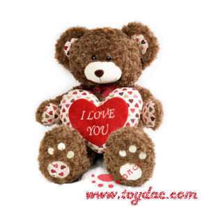 Plush Valentine Love Heart Bear Toys pictures & photos