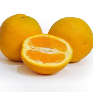 Fresh Yellow Navel Orange