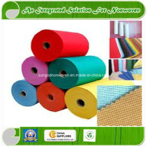SMS Spunbond Nonwoven Fabrics with SGS CE Certificate (SUNGOD89-94) pictures & photos