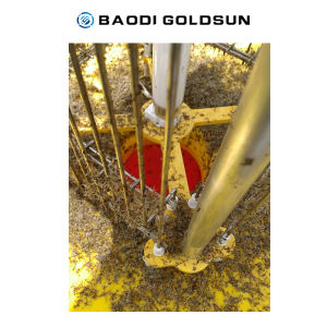 Solar Insect Killer Pest Repeller in Orchard, Vegetable Field for Pest Control pictures & photos