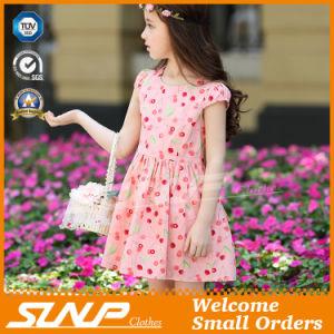 High Quality Girls Flowers Dress Sleeveless Children Costume