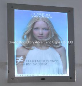 Advertising Magic Mirror Light Box/Bathroom Advertising Mirror/Advertising Mirrors with Sensors pictures & photos