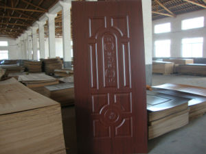 HDF Melamine Door Skin 4mm pictures & photos