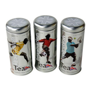 3D Embossed Tea Tin Boxes pictures & photos