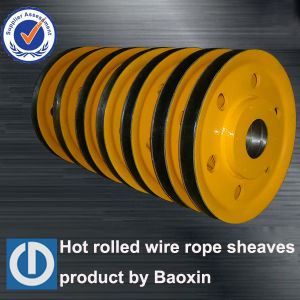 Hot Rolling Forged Rope Hoisting Project Applied Sheaves pictures & photos